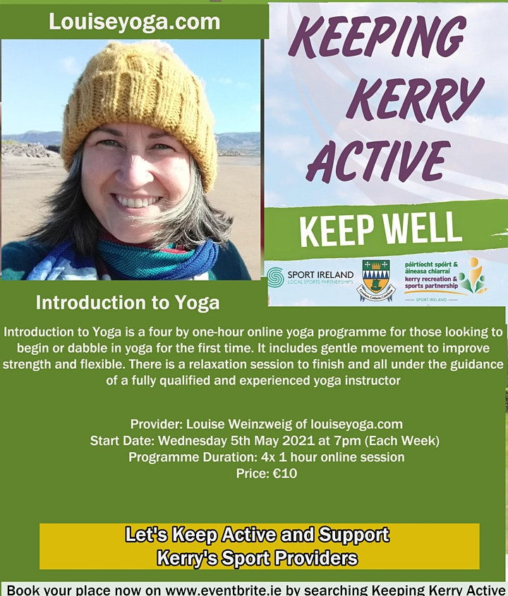 Keeping Kerry Active -  Introduction to Yoga image