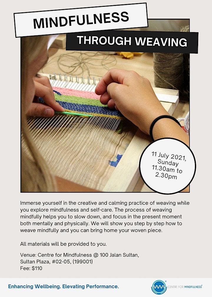 Mindfulness Through Weaving image