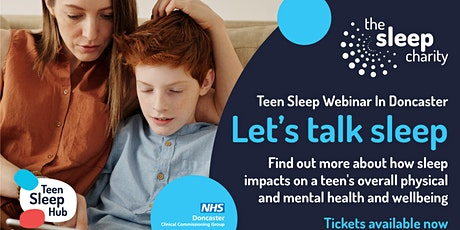 Teen Sleep Webinar for Professionals in Doncaster tickets