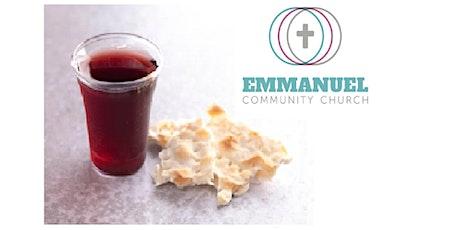 ECC  Evening Communion Service (25th April 2021) tickets