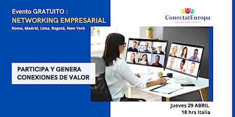Networking Empresarial  ONLINE - ConectatEuropa entradas