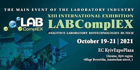 XIII International Exhibition LABComplEX tickets