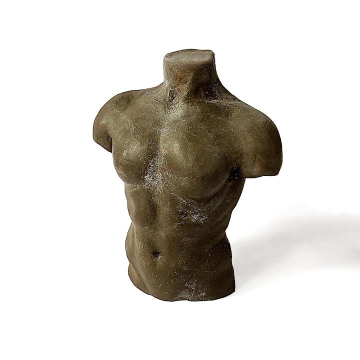 Fine Art Workshop: Make A Human Torso Out Of Clay image