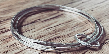 SILVER JEWELLERY: Set of Silver Bangles and Ring Workshop tickets