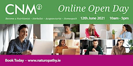 CNM Ireland:  Online Open Day tickets
