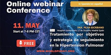 Webinar: Tratamiento por objetivos y estrategia de seguimiento en la Hipert tickets