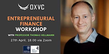 Entrepreneurial Finance Workshop tickets