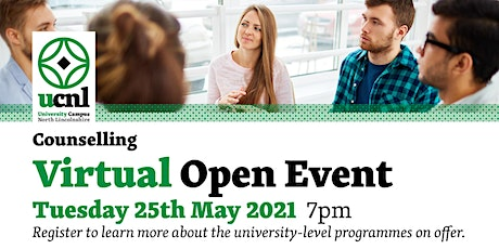 Counselling Virtual Open Event tickets