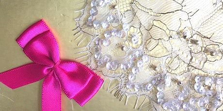 Embroidery - Beginners - Embellishments- ONLINE tickets