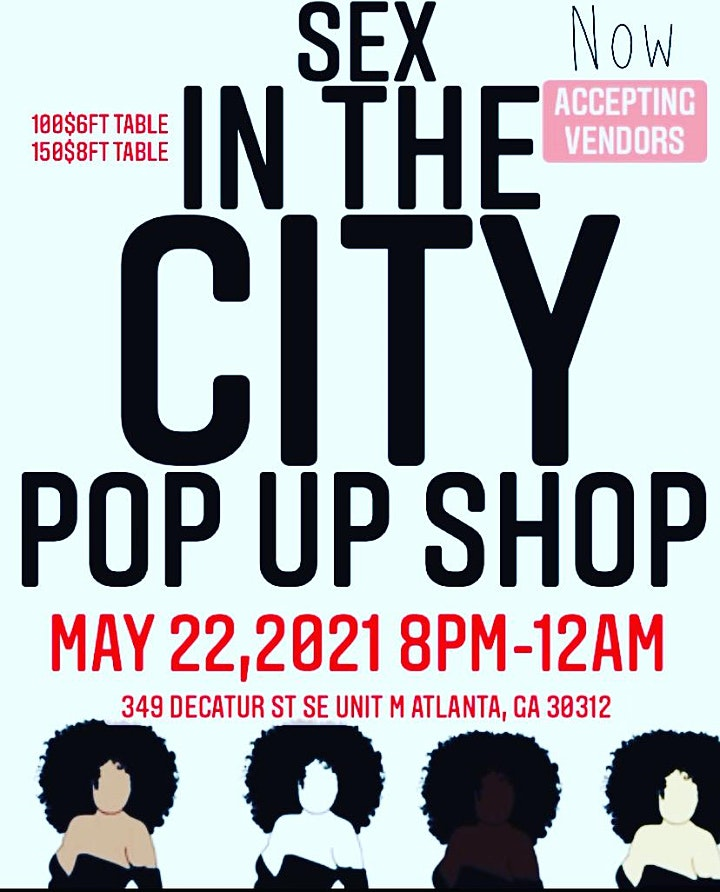 Sexiest in the City Pop Up Shop image