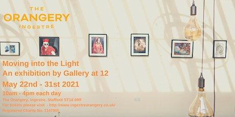 Moving into the Light Art Exhibition tickets