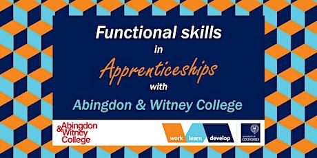 Functional Skills information | Apprenticeship Expo tickets