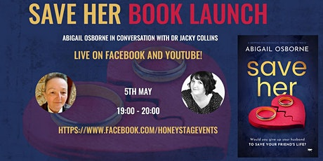 Book Launch - SAVE HER by Abigail Osborne tickets