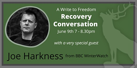 A Special Recovery Conversation with Winterwatch's Joe Harkness tickets