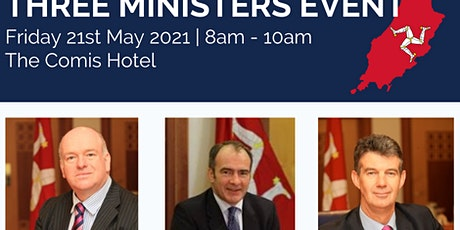 Three Ministers event | Sponsored by Appleby tickets