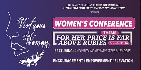 """""""Virtuous Women's Empowerment Conference"""" tickets"""