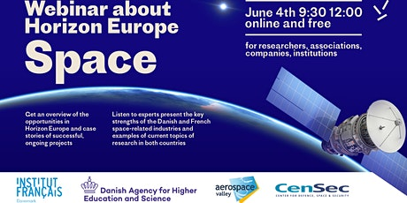 Danish French webinar about Horizon Europe - Space tickets