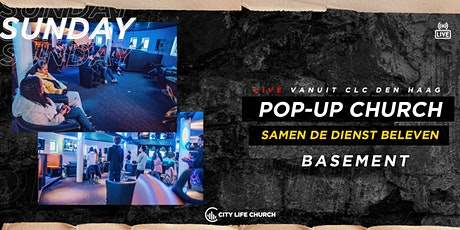 Pop-Up Church Basement - zo. 25 april tickets