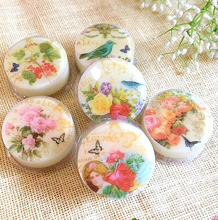 2 hrs Natural Soap making Workshop image