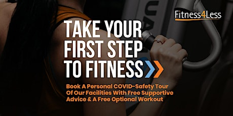 Personal Gym Tours at Fitness4Less Worcester tickets