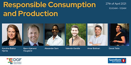 DGF 2021- Sustainable consumption and production tickets