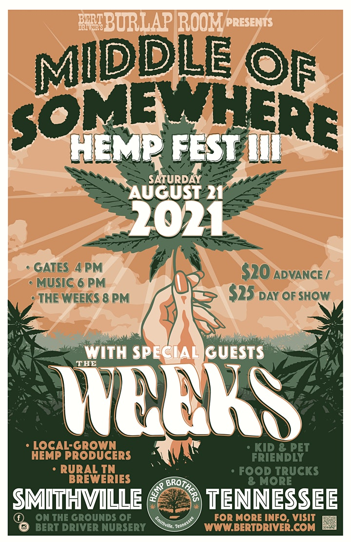 Middle of Somewhere Hemp Fest III image
