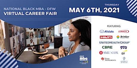 NATIONAL BLACK MBA DFW - VIRTUAL CAREER FAIR tickets