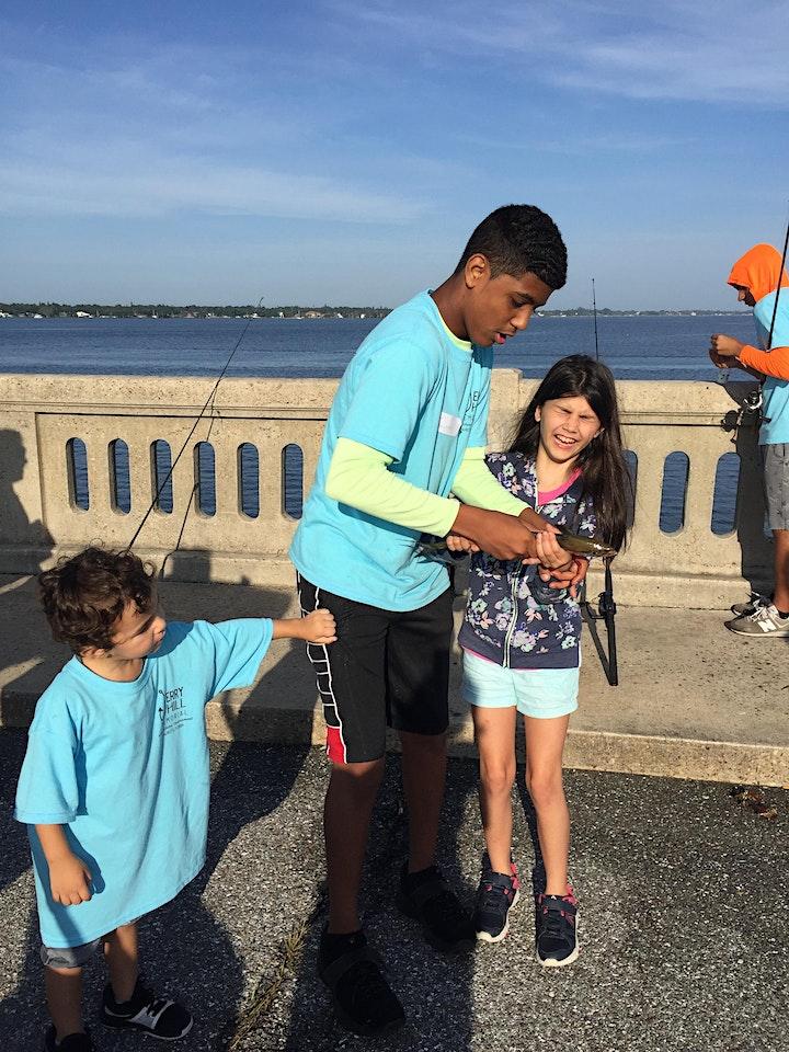 Kid's Fishing Tournament - 2021 Green Bridge, Palmetto image