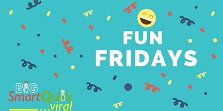 Fun Friday: Easy & FUN general quiz online | Speedquizzing | Big Smart Quiz tickets