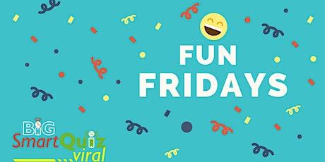 Fun Friday: Easy & FUN general quiz online | Speedquizzing | Big Smart Quiz tickets