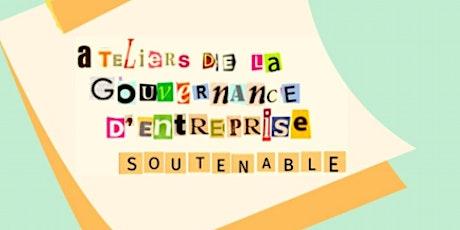 Atelier 4 :La gouvernance d'entreprise soutenable, un enjeu démocratique ? billets