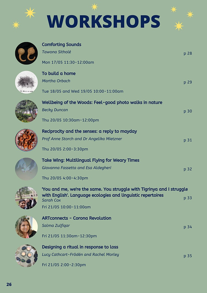 UNESCO RILA Spring School: The Arts of Integrating (MayDay!) image