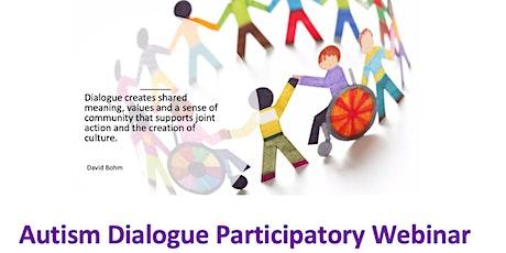 Derbyshire Autism Dialogue Participatory Webinar tickets