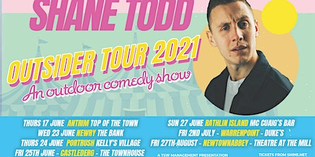 Shane Todd Outsider Tour- The Townhouse BeerGarden tickets