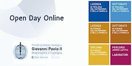 Open Day Online - Pontificio Istituto Teologico Giovanni Paolo II biglietti