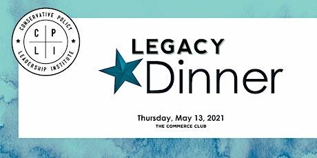 CPLI Legacy Dinner 2021 tickets