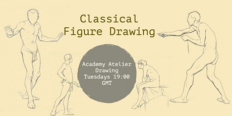 Classical Figure Drawing Course (weekly) tickets
