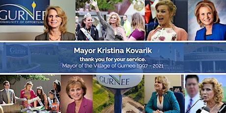 Mayor Kristina Kovarik Farewell Open House tickets