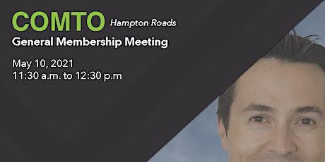 COMTO Hampton Roads May 2021 General Membership Meeting tickets