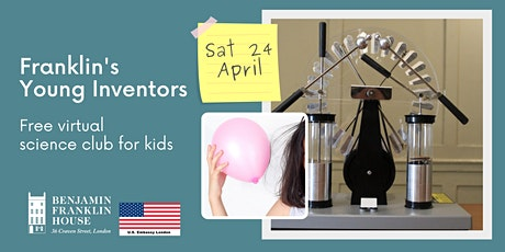 Franklin's Young Inventors Science Club: Static Electricity tickets
