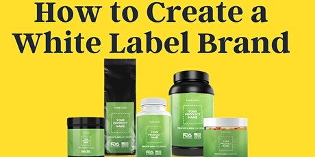 Masterclass: Creating Your White Label CBD Product Line tickets