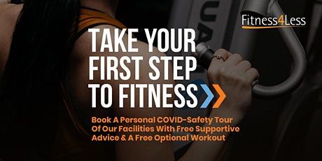 Personal Gym Tours at Fitness4Less London Cambridge Heath tickets
