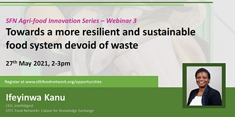 Towards a more resilient and sustainable food system devoid of waste tickets