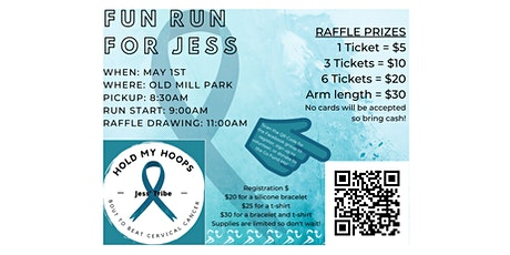 Fun Run for Jess - Hold My Hoops tickets