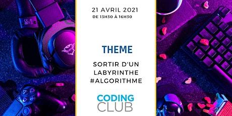 Coding Club 21 avril 2021 billets