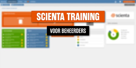 Scienta Beheerderstraining 20 mei 2021 tickets