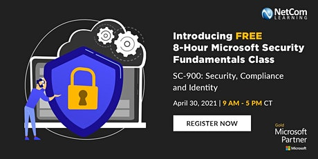 SC-900: Free 8-Hour Microsoft Security Fundamentals Master Class tickets