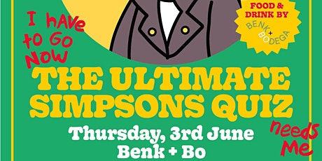 The Ultimate Simpsons Quiz | June 2021 tickets