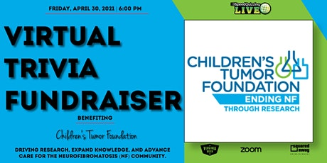 Virtual Trivia Fundraiser for Children's Tumor Foundation! tickets