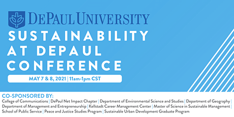 Sustainability at DePaul Conference tickets